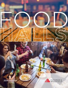 CW Retail FOOD HALLS OF AMERICA Report