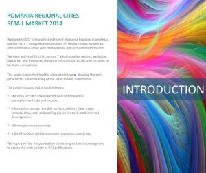 Romania Retail regional cities 2014 dtz echinox 1