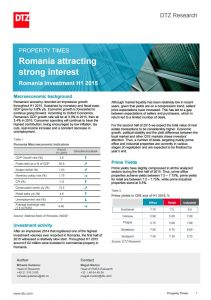 Property Times Romania Investment H1 2015 113 dtz echinox 1