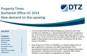 Property Times Bucharest H1 2014 Office Market echinox