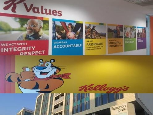 Kellogg's Office Bucharest CASE STUDIES